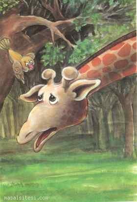 Uyumak İstemeyen Zürafa