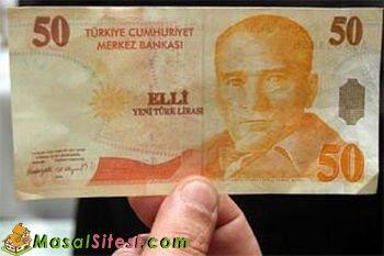 50 Liralık Banknot