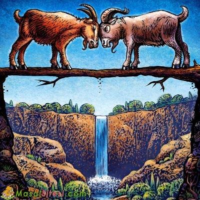 İki İnatçı Keçi