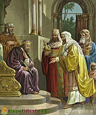 Zalim Kral ve Bilge Adam