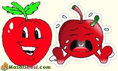 Ağlayan Elma ile Gülen Elma